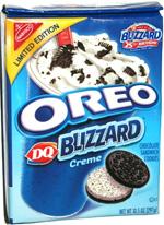 Oreo DQ Blizzard Creme