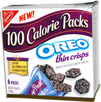 100 Calorie Packs Oreo Thin Crisps