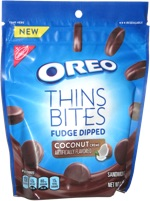 Oreo Thins Bites Fudge Dipped Coconut Creme