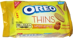 Oreo Thins Salted Caramel Crème