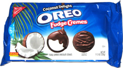 Oreo Fudge Cremes Coconut Delight