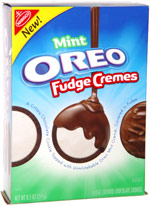 Mint Oreo Fudge Cremes