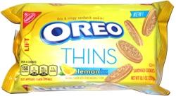 Oreo Thins Lemon