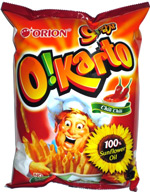 Orion O!Karto Chili Chili Italian Potato Chips