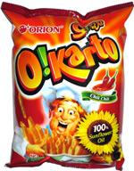Orion O!Karto Chili Chili Italian Potato Chips
