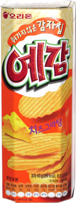 Orion Yegam Baked Potato Chips Cheese