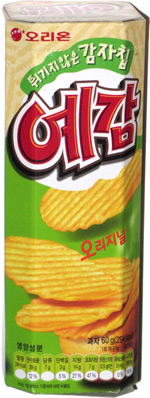 Orion Yegam Baked Potato Chips Original