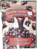 Orville's Gourmet Popcorn Sensations Chocolate Toffee Crunch