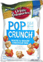 Orville Redenbacher's Pop Crunch White & Sharp Cheddar Mix