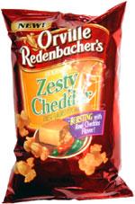 Orville Redenbacher's Gourmet Zesty Cheddar Cheese Popcorn