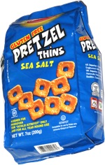 Osem Gluten Free Pretzel Thins Sea Salt
