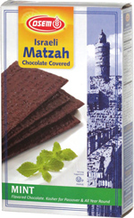 Osem Israeli Matzah Chocolate Covered Mint