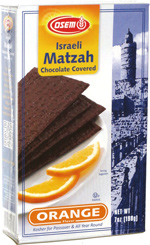Osem Israeli Matzah Chocolate Covered Orange Flavor