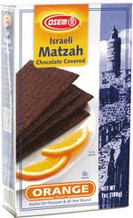 Osem Israeli Matzah Chocolate Covered Orange Flavor