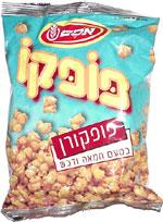 Popco Corn Snack Butterscotch Flavored