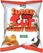 Super Cut Potato Chips Oyster Omelet Flavor