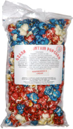 Ozark Mountain Popcorn Raspberries & Cream