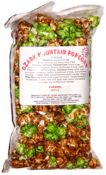 Ozark Mountain Popcorn Caramel Apple