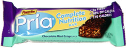 Powerbar Pria Complete Nutrition Bar Chocolate Mint Crisp