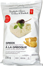 President's Choice Greek Potato Chips