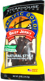 Pacific Gold Steakhouse Seasoning Beef Jerky