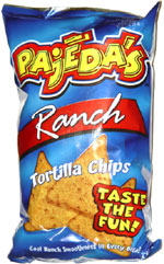 Pajedas Ranch Tortilla Chips