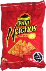 Pancho Villa Nachos Sabor Queso