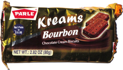 Kreams Bourbon Chocolate Cream Biscuits