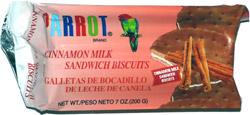 Parrot Brand Cinnamon Milk Sandwich Biscuits