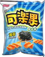 Pea Crackers Seaweed