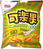 Pea Crackers Wasabi