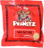Peanotz Wild Bill BBQ Delectably Roasted Soy Nut Snackz