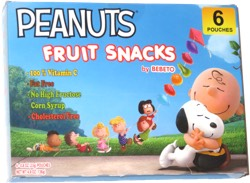 Peanuts Fruit Snacks