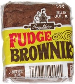 Peggy Lawton Fudge Brownie