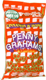 Pennysticks Cinnamon & Honey Penny Grahams