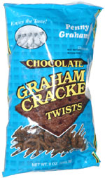 Penny Grahams Chocolate Graham Cracker Twists