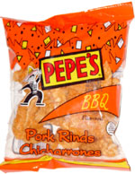 Pepe's BBQ Pork Rinds Chicharrones