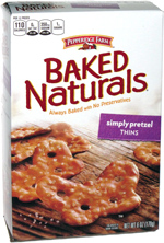 Pepperidge Farm Baked Naturals Simply Pretzel Thins