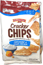 Pepperidge Farm Cracker Chips Cheddar & Sour Cream