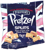 Pfeiffer's Sour Cream and Chive Flavour Pretzel Splits