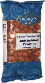 Picard's Crispy Potato Chip Blazin' Hot Habanero Peanuts
