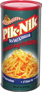 Pik-Nik Sea Salt & Vinegar Shoestring Potatoes