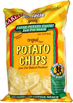 Pinnacle Gold Original Flavor Potato Chips Healthy Lifestyle Snack