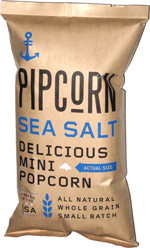 Pipcorn Sea Salt Delicious Mini Popcorn
