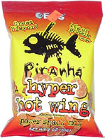 Piranha Hyper Hot Wing Power Snack Mix