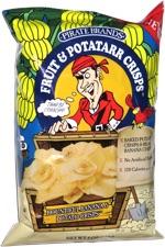Fruit & Potatarr Crisps Bountiful Banana & Potato Crisps