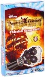 Pirates of the Caribbean The Curse of the Black Pearl Chocolate Cannonballs