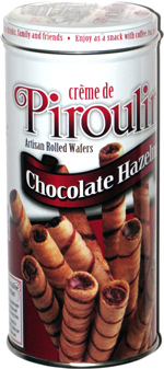 Cr�me de Pirouline Artisan Rolled Wafers Chocolate Hazelnut