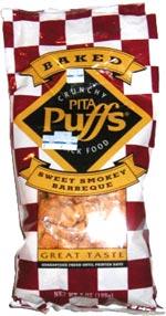 Crunchy Pita Puffs Sweet Smokey Barbeque