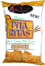 Regenie's Organic Pita Ritas Cheddar